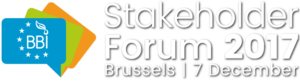 BBI Stakeholders Forum 2017 in Brussels, Belgium @ The Square Glass Entrance Mont des Arts/Kunstberg B-1000 Brussels