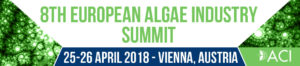 European Algae Industry Summit 2018, 25th & 26th April in Vienna, Austria. @ Vienna, Austria