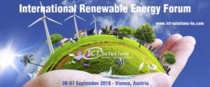 International Renewable Energy Forum 2018 @ Vienna, Austria