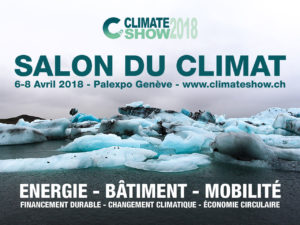 2018 Climate Show in Geneva 6th-8th April @ Palexpo