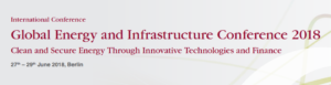 Global Energy and Infrastructure Conference 2018 - Berlin 27th-29th June