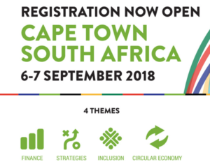Advancing Inclusive and Sustainable Economies - Cape Town 6th-7th September
