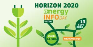 Horizon 2020 Energy virtual info day - 13th September