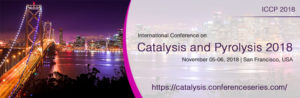 International Conference On Catalysis & Pyrolysis 2018 - San Francisco 5th-6th November @ Crowne Plaza Hotel