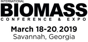 International Biomass Conference & Expo 18th-19th March 2019 - Savannah, Georgia