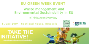 EU Green Week Event, June 6, 2019, Brussels